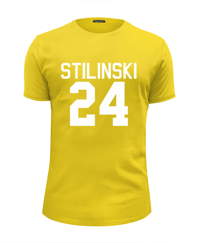 Футболка Wearcraft Premium Slim Fit Printio Teen wolf – stilinski 24 все цены