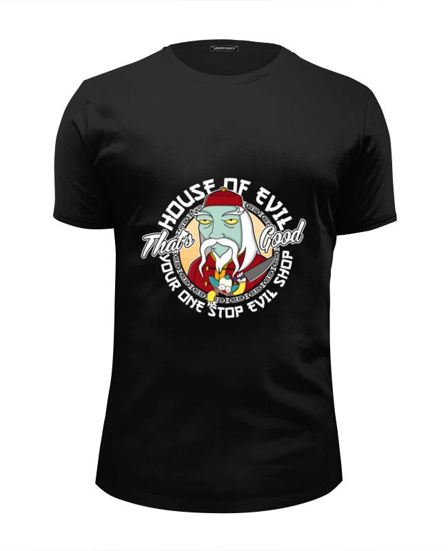 Футболка Wearcraft Premium Slim Fit Printio Дом зла (клоун красти) футболка wearcraft premium slim fit printio insane clown posse