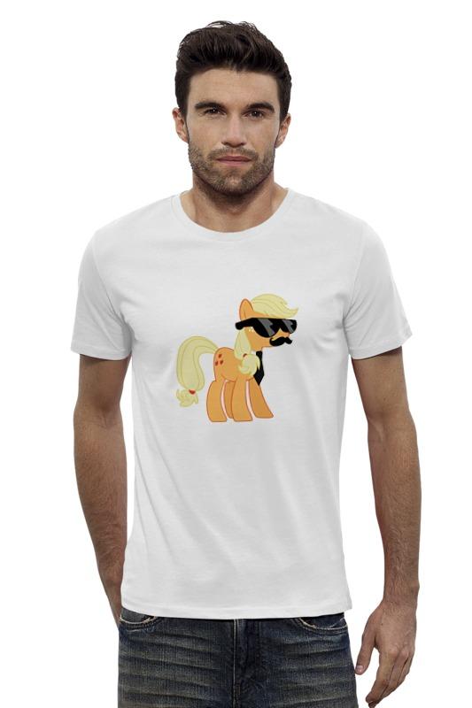 Футболка Wearcraft Premium Slim Fit Printio My little pony - applejack (эпплджек) футболка wearcraft premium slim fit printio my little pony герб applejack эпплджек