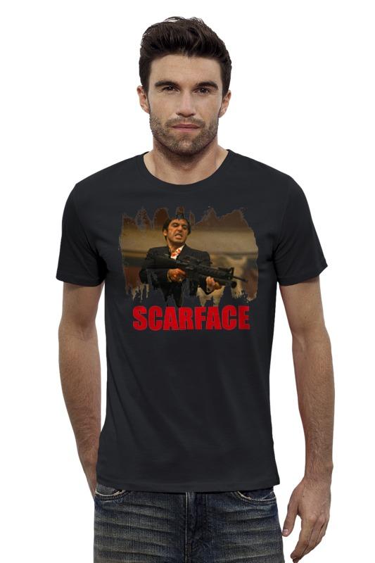Футболка Wearcraft Premium Slim Fit Printio Scarface футболка wearcraft premium slim fit printio республика удмуртия ижевск