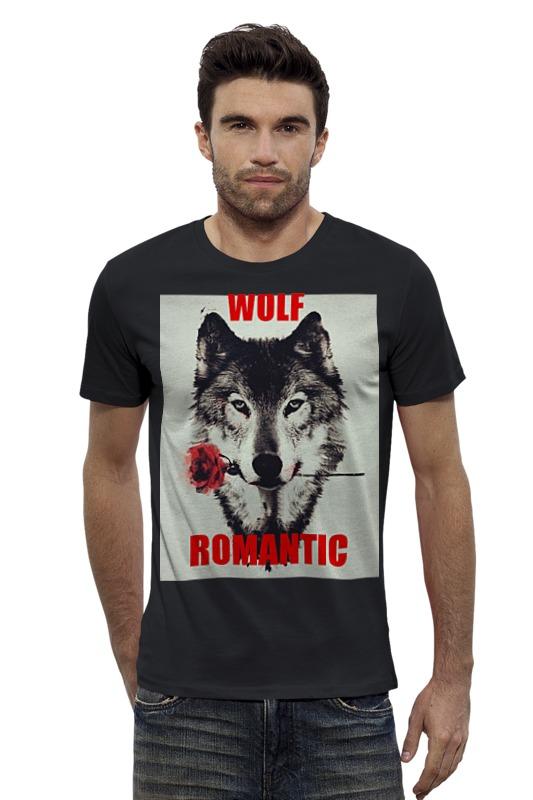 Футболка Wearcraft Premium Slim Fit Printio Wolf romantic caban romantic футболка