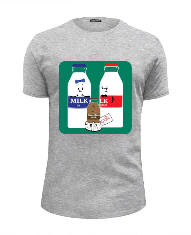 Футболка Wearcraft Premium Slim Fit Printio Шоколадное молочко поло print bar шоколадное молочко