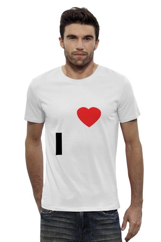 Футболка Wearcraft Premium Slim Fit Printio I love msk soobshhenie ot strelkova 01 08 2014 2211 msk