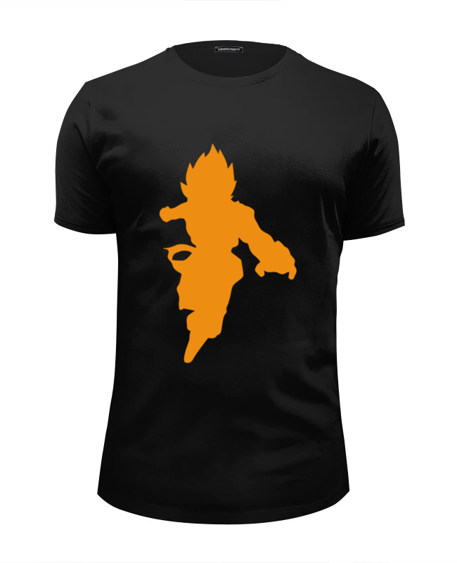 Футболка Wearcraft Premium Slim Fit Printio Супер сайян (жемчуг дракона) футболка wearcraft premium slim fit printio дух дракона