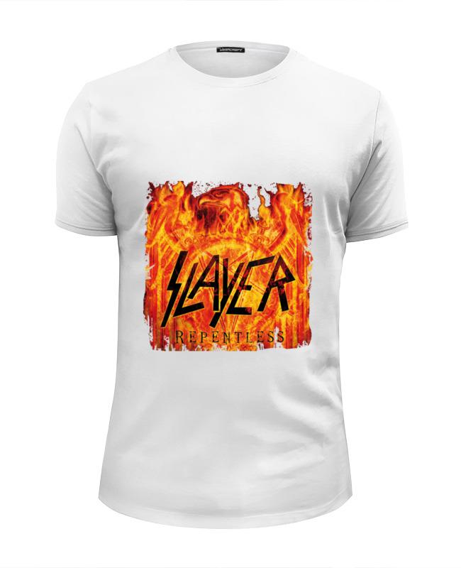 Футболка Wearcraft Premium Slim Fit Printio Slayer repentless 2015 футболка с полной запечаткой мужская printio slayer repentless 2015 3