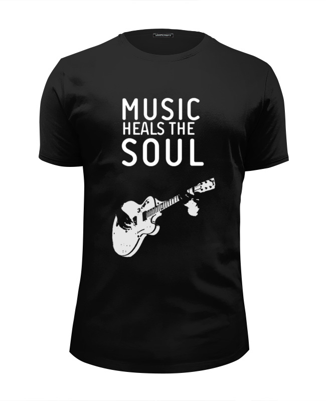 Printio Music heals the soul футболка wearcraft premium slim fit printio soul eater