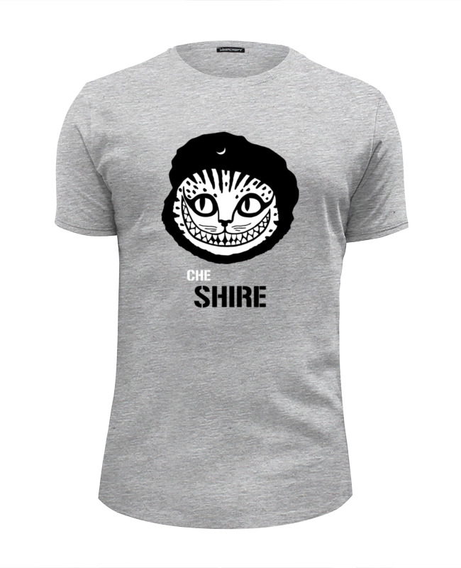 Футболка Wearcraft Premium Slim Fit Printio Чеширский кот футболка wearcraft premium printio чеширский кот