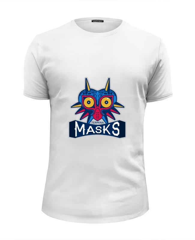 Футболка Wearcraft Premium Slim Fit Printio Majora's mask (зельда) brand technology dust mask set mask goggles 1pcs filter cotton pm2 5 respirator dust mask welding polished n95 respirator mask