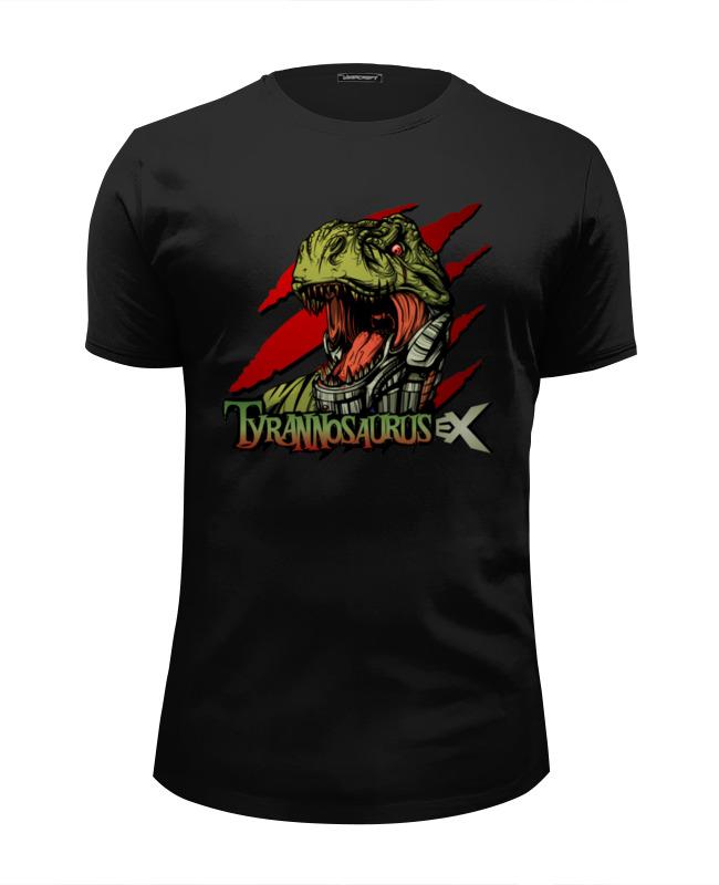 Футболка Wearcraft Premium Slim Fit Printio Тираннозавр футболка классическая printio тираннозавр