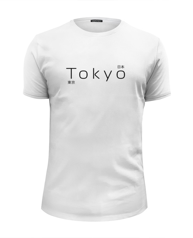 Футболка Wearcraft Premium Slim Fit Printio Tokyo 2 футболка wearcraft premium slim fit printio tokyo 25 space 2