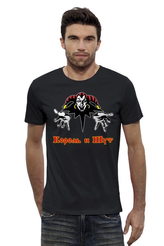 Футболка Wearcraft Premium Slim Fit Printio Король и шут футболка wearcraft premium slim fit printio черно белый шут