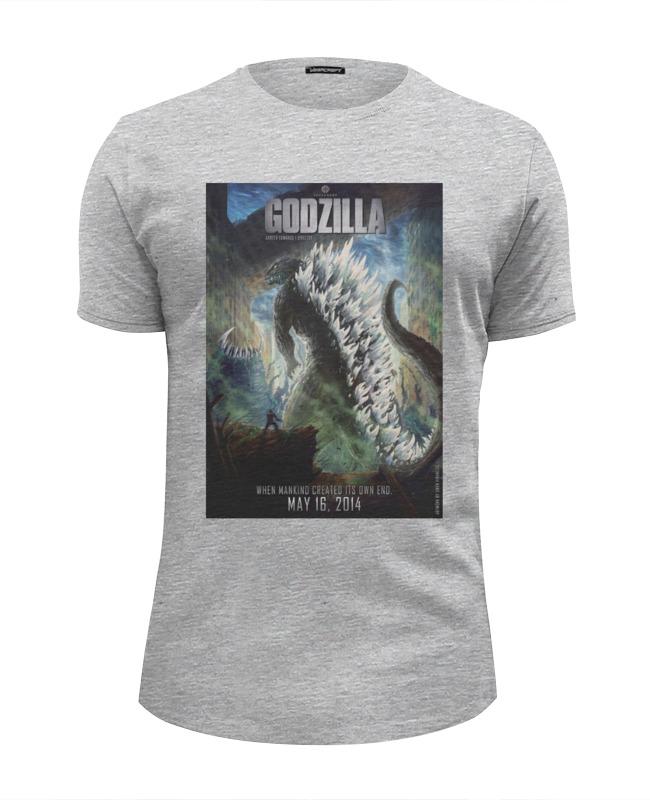 Футболка Wearcraft Premium Slim Fit Printio Godzilla / годзилла