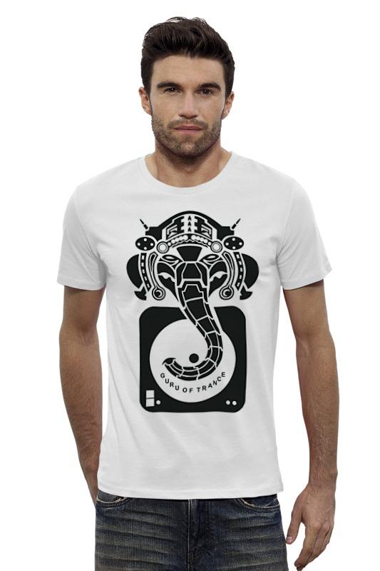 Футболка Wearcraft Premium Slim Fit Printio Guru of trance футболка для беременных printio guru of trance