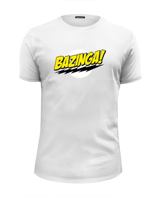 Printio Шелдон купер - bazinga футболка wearcraft premium slim fit printio sheldon bazinga
