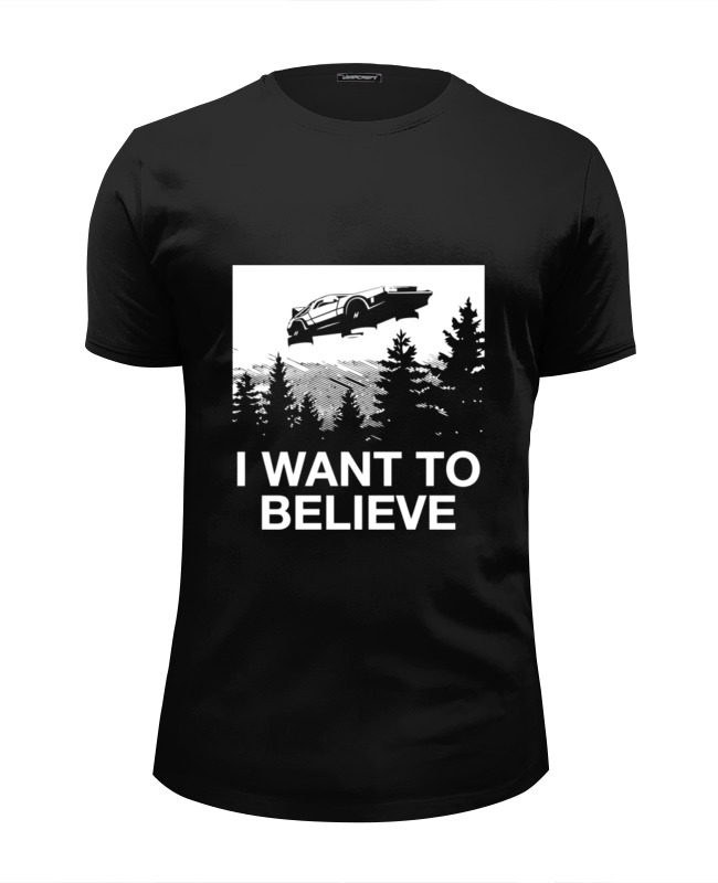 Футболка Wearcraft Premium Slim Fit Printio Хочу верить футболка wearcraft premium slim fit printio хочу на море