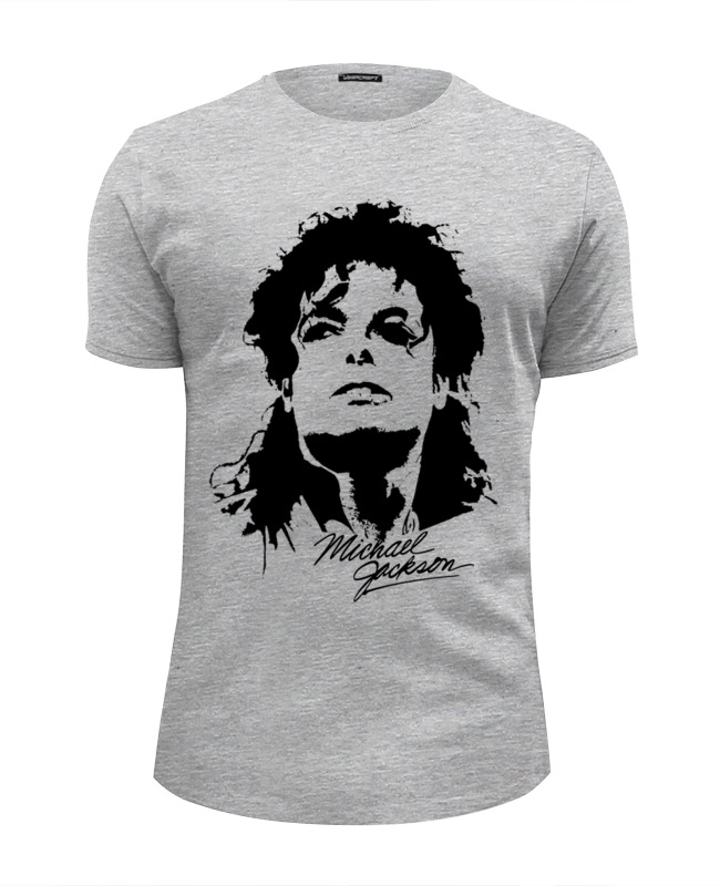 Printio Michael jackson футболка wearcraft premium slim fit printio enough