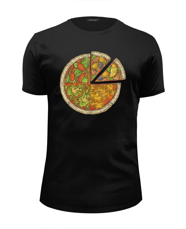 Printio Пицца футболка wearcraft premium slim fit printio пицца и колбаска