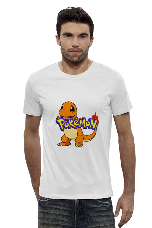 Футболка Wearcraft Premium Slim Fit Printio Pokemon charmander футболка wearcraft premium slim fit printio pokemon raichu
