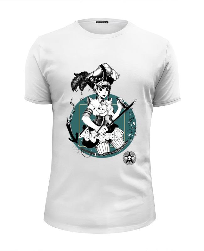 Printio Пиратка футболка wearcraft premium slim fit printio пиратка