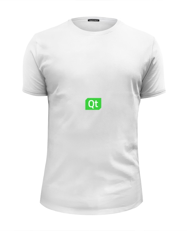 Футболка Wearcraft Premium Slim Fit Printio Qt team