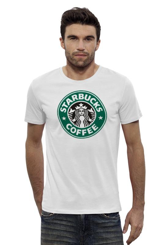 Футболка Wearcraft Premium Slim Fit Printio Starbucks футболка wearcraft premium slim fit printio кит в банке