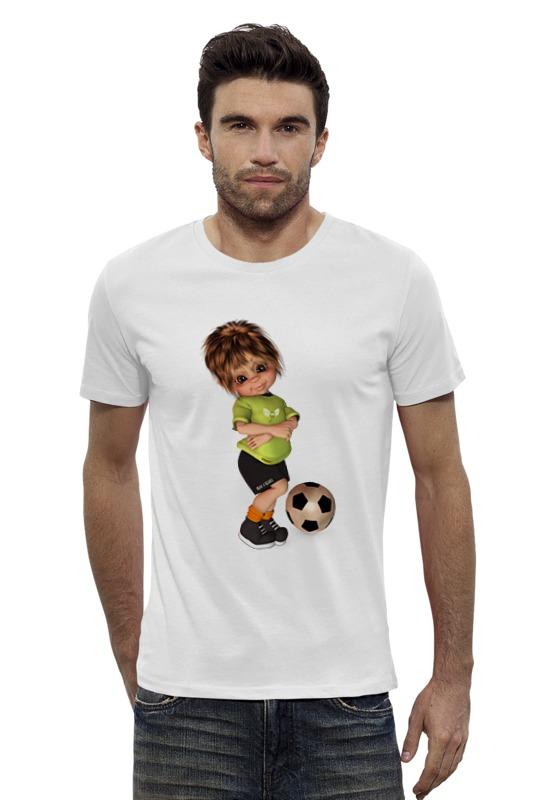 Футболка Wearcraft Premium Slim Fit Printio Футболист футболка wearcraft premium slim fit printio радостный крот