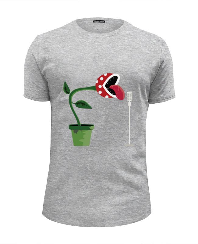 Футболка Wearcraft Premium Slim Fit Printio Цветок (марио) футболка wearcraft premium slim fit printio черный цветок