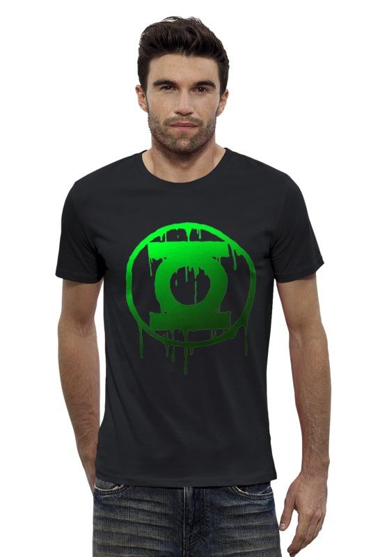 Футболка Wearcraft Premium Slim Fit Printio Зеленый фонарь налобный фонарь sunree l40 ipx8 4led