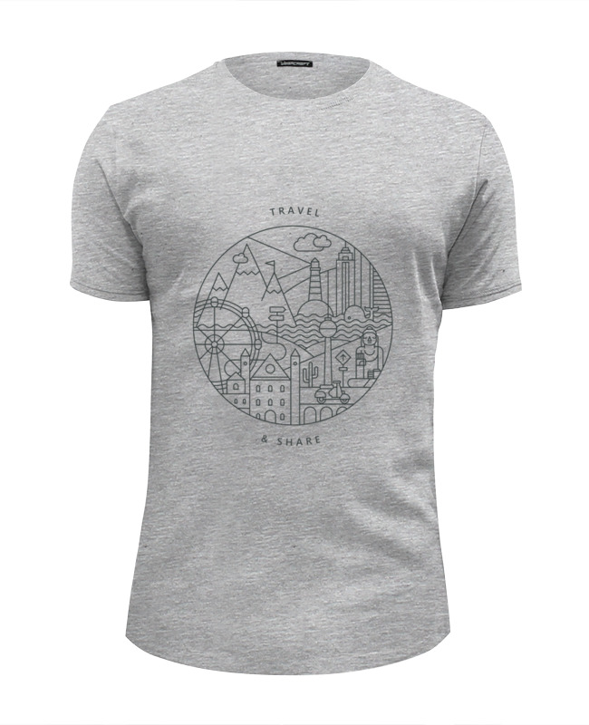 Футболка Wearcraft Premium Slim Fit Printio Be global   montok футболка wearcraft premium slim fit printio be or not to be