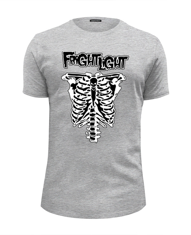 Футболка Wearcraft Premium Slim Fit Printio Fright light цена