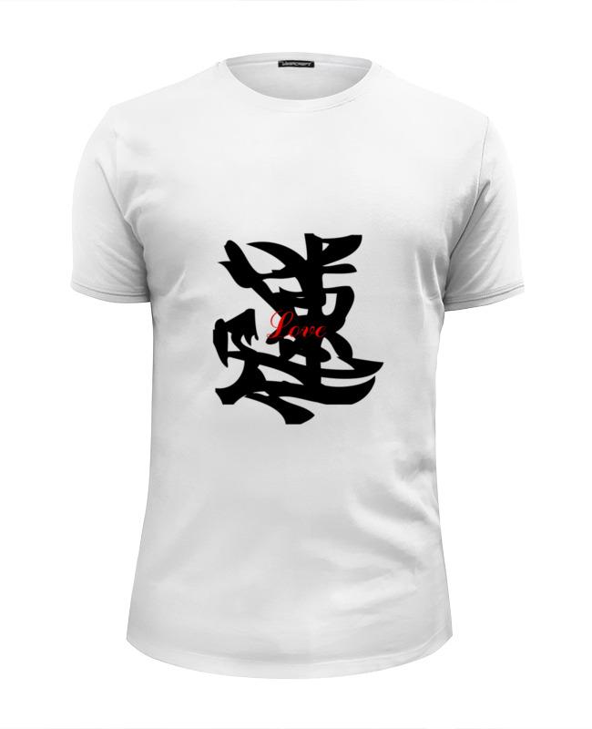 Футболка Wearcraft Premium Slim Fit Printio Love (любовь) футболка wearcraft premium slim fit printio i love ny