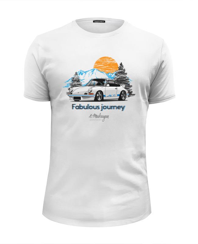 Футболка Wearcraft Premium Slim Fit Printio Porsche 911