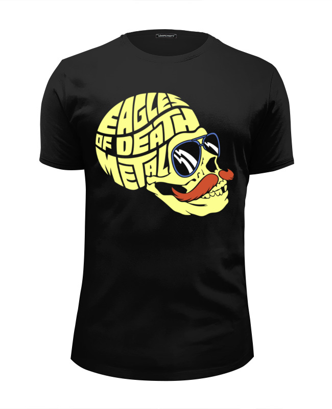 Футболка Wearcraft Premium Slim Fit Printio Eagles of death metal thou shell of death page 8