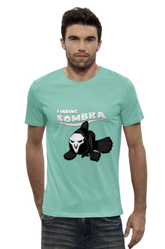 Футболка Wearcraft Premium Slim Fit Printio Сомбра sombra действующий бизнес в челябинске