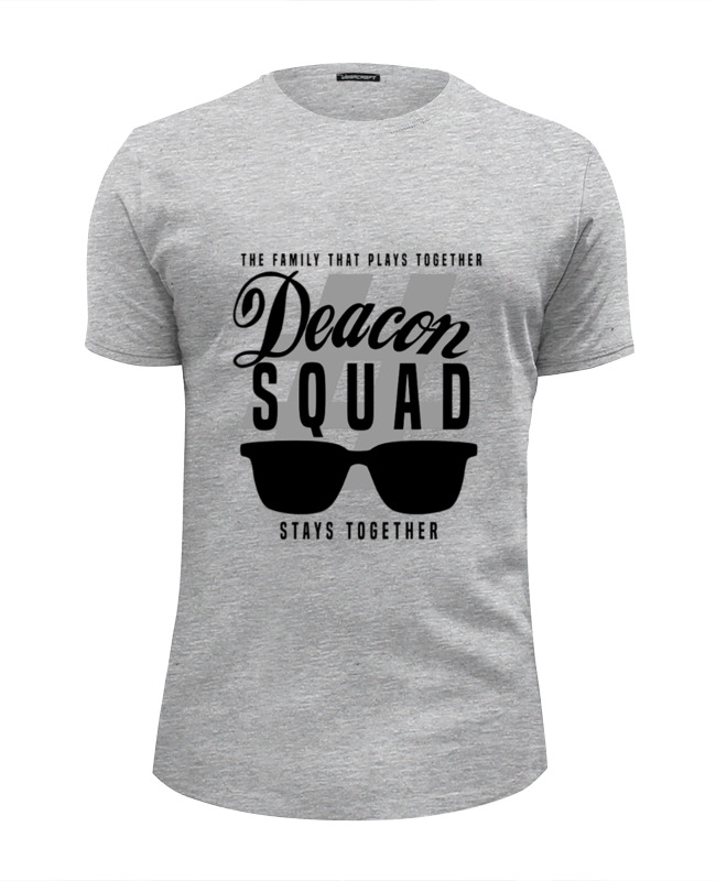 Футболка Wearcraft Premium Slim Fit Printio Deacon squad