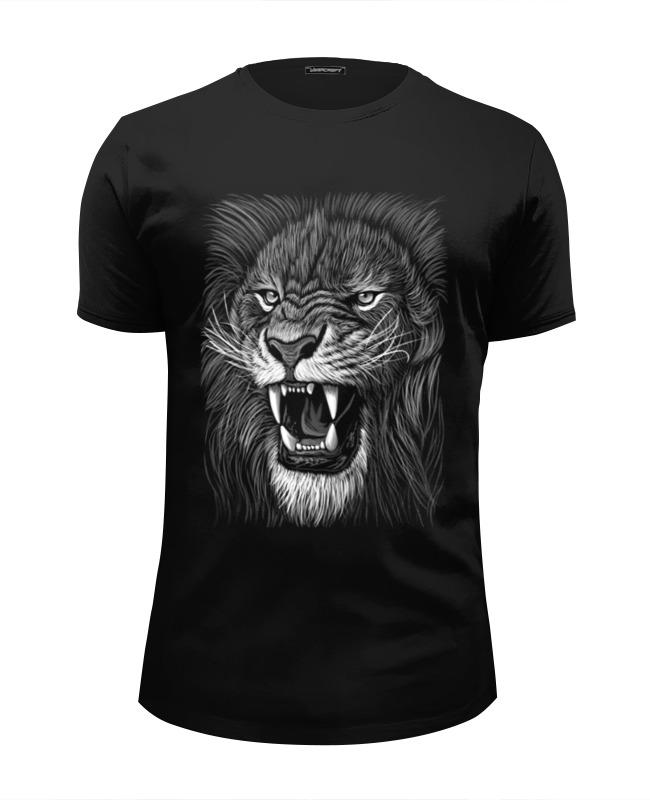 Футболка Wearcraft Premium Slim Fit Printio Царь зверей футболка wearcraft premium slim fit printio царь просто царь