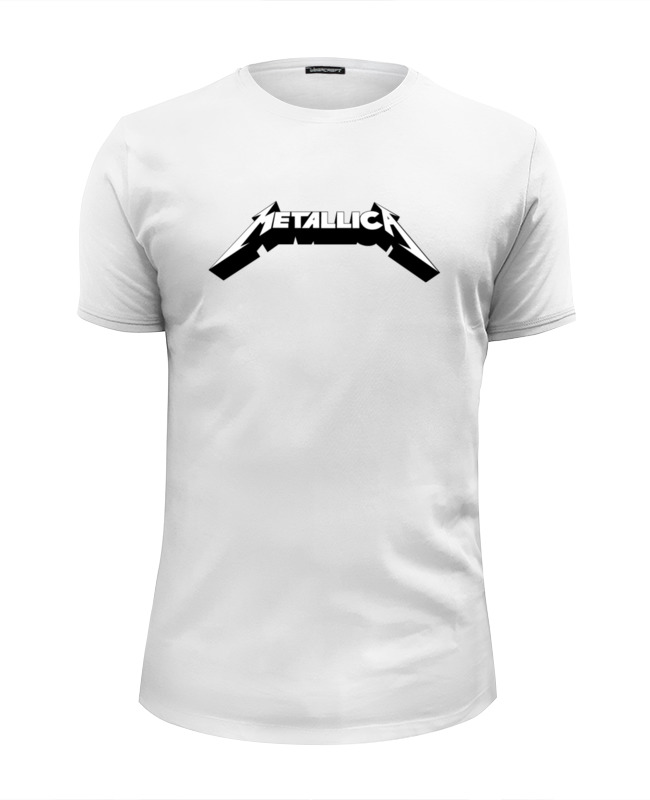 Фото - Футболка Wearcraft Premium Slim Fit Printio Логотип группы «metallica» футболка wearcraft premium slim fit printio metallica kill em all