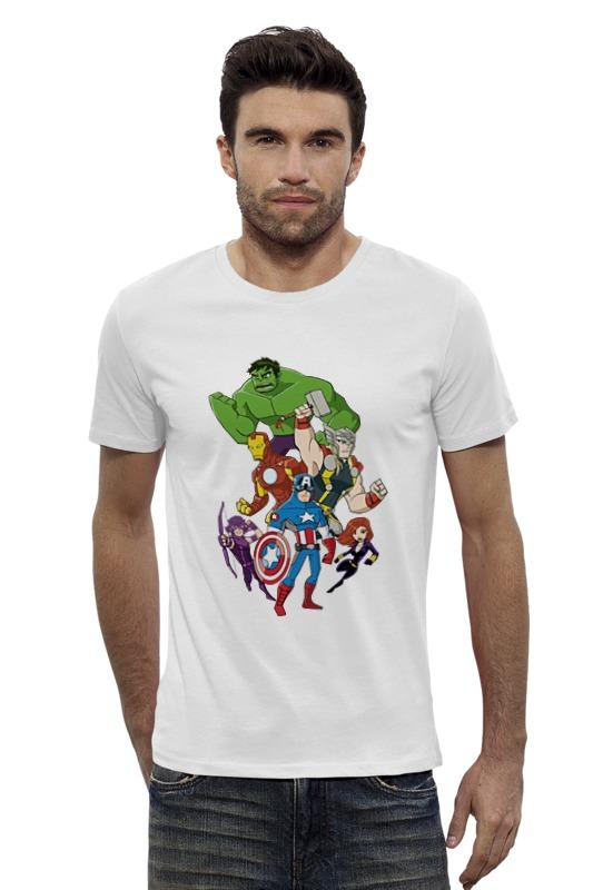 Футболка Wearcraft Premium Slim Fit Printio Мстители (the avengers) футболка wearcraft premium slim fit printio avengers