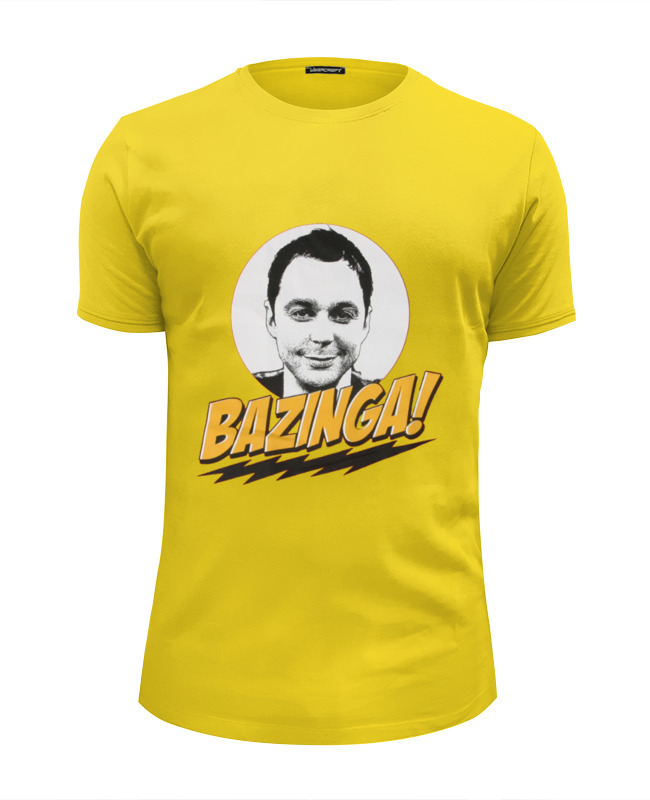 Футболка Wearcraft Premium Slim Fit Printio The big bang theory sheldon cooper