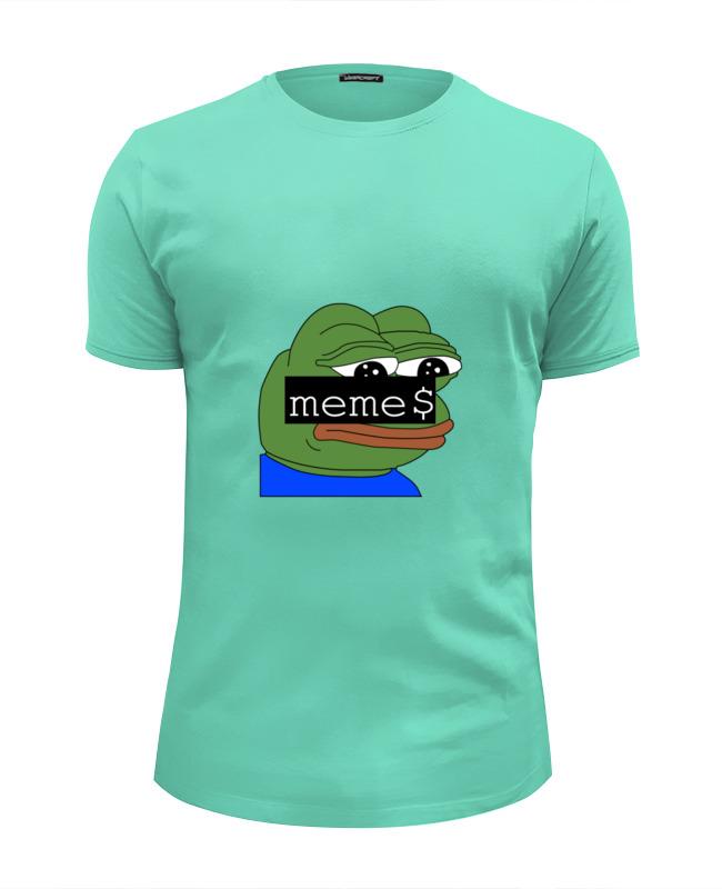Футболка Wearcraft Premium Slim Fit Printio Pepe t-shirt женская футболка other t tshirt 2015 blusas femininas women tops 1