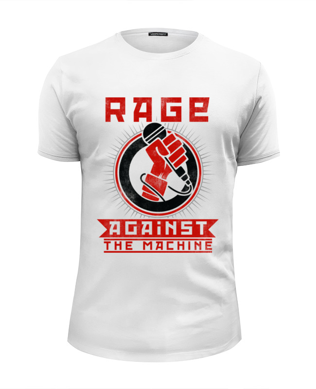 Printio Rage against the machine футболка wearcraft premium slim fit printio drift machine 180sx