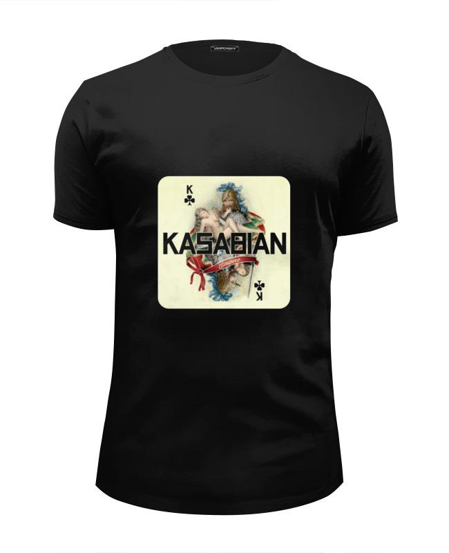 Футболка Wearcraft Premium Slim Fit Printio Kasabian - empire футболка wearcraft premium slim fit printio empire time