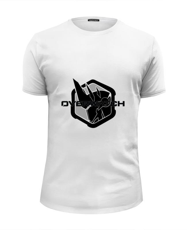 Футболка Wearcraft Premium Slim Fit Printio Overwatch reinhardt bw майка print bar reinhardt