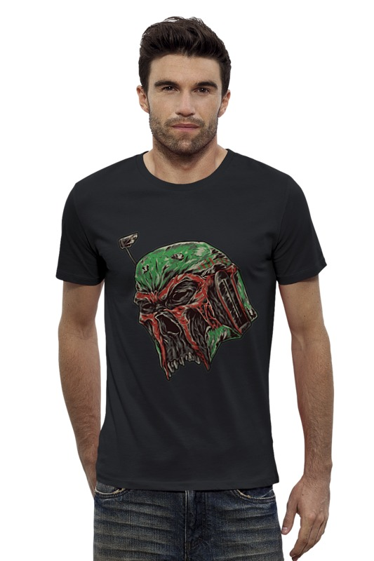 Футболка Wearcraft Premium Slim Fit Printio Star wars boba fett футболка wearcraft premium slim fit printio stop wars украина