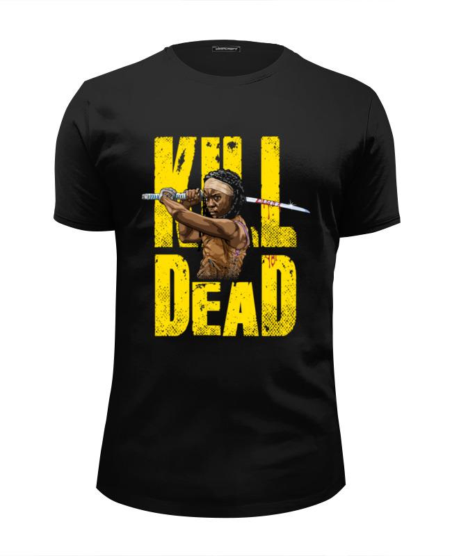 Футболка Wearcraft Premium Slim Fit Printio Kill dead футболка wearcraft premium slim fit printio love fit kill it rich piana 5%
