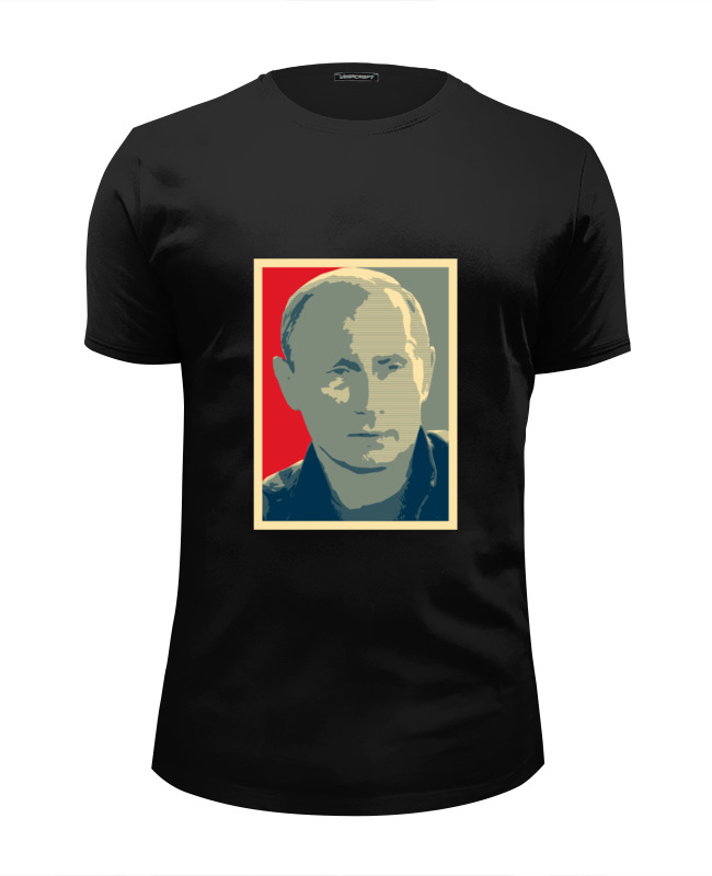 Printio Путин футболка wearcraft premium slim fit printio путин я вас вижу