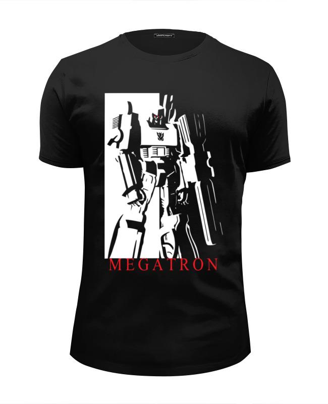 Футболка Wearcraft Premium Slim Fit Printio Мегатрон футболка wearcraft premium slim fit printio мегатрон мегамен