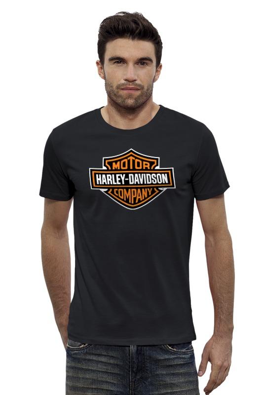 Футболка Wearcraft Premium Slim Fit Printio Harley-davidson / харлей