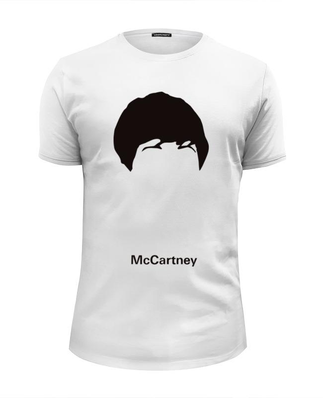 Футболка Wearcraft Premium Slim Fit Printio Пол маккартни футболка классическая printio пол маккартни