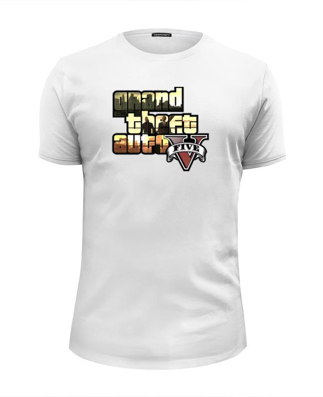 Футболка Wearcraft Premium Slim Fit Printio Grand theft auto 5 футболка wearcraft premium slim fit printio gta los santos grand theft academy